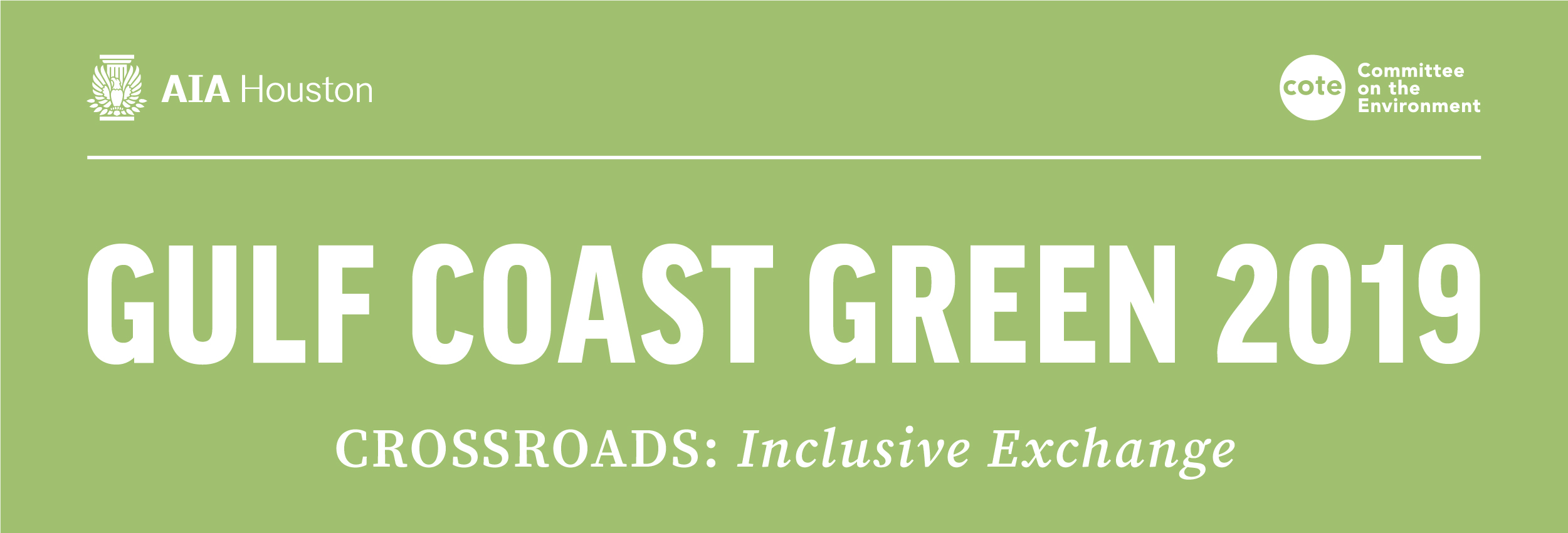Gulf Coast Green 2019 Symposium and EXPOnential @ Moody Center for the Arts, Rice University | Houston | Texas | United States