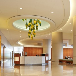 highly technical spaces and healthcare interior architectural design