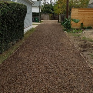 Permeable Gravel pavers- Heights