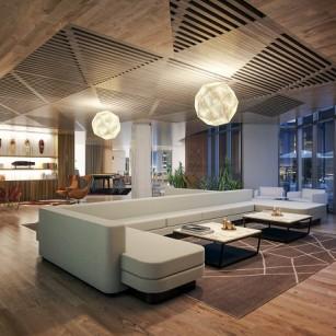 6th Floor Lounge Rendering