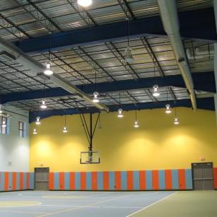 Harmony Science Academy; Bryan/College Station, TX Interior - Gym