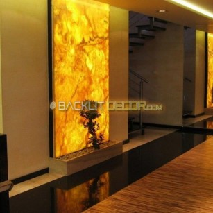 Illuminated wall decor
