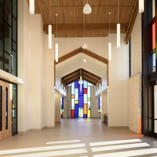 *Star of Hope Cornerstone Chapel, *J. Kevin Story, AIA - Design Architect, Kirksey - Architect of Record, Tellepsen Builders, General Contractor