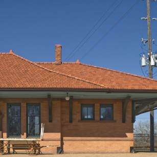 Southern Pacific Passenger Depot - Wharton, Texas / Hester + Hardaway Photography