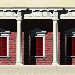 Roman Doric Elevation