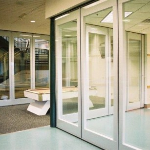 Operable Glass Partitions