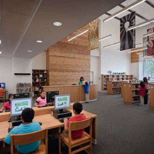 HISD James A. Berry Elementary School Library