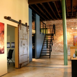 m ARCHITECTS Studio and Gallery in the old Fifth Ward Hotel