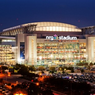 NRG STADIUM CONSTRUCTED OF 800,000 LIGHTWEIGHT CMU