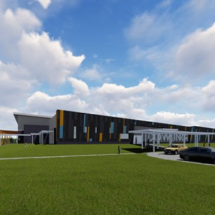 Port Arthur ISD Dowling Elementary School Rendering