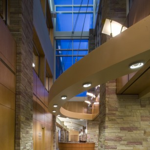 Platte Valley Medical Center in Brighton, CO. Photo by Aker Imaging, Houston.