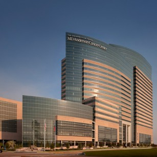 UT MD Anderson, Mid Campus Building One and Parking Facility in Houston, TX. Photo by Aker Imaging, Houston. Architecture by WHR Architects.