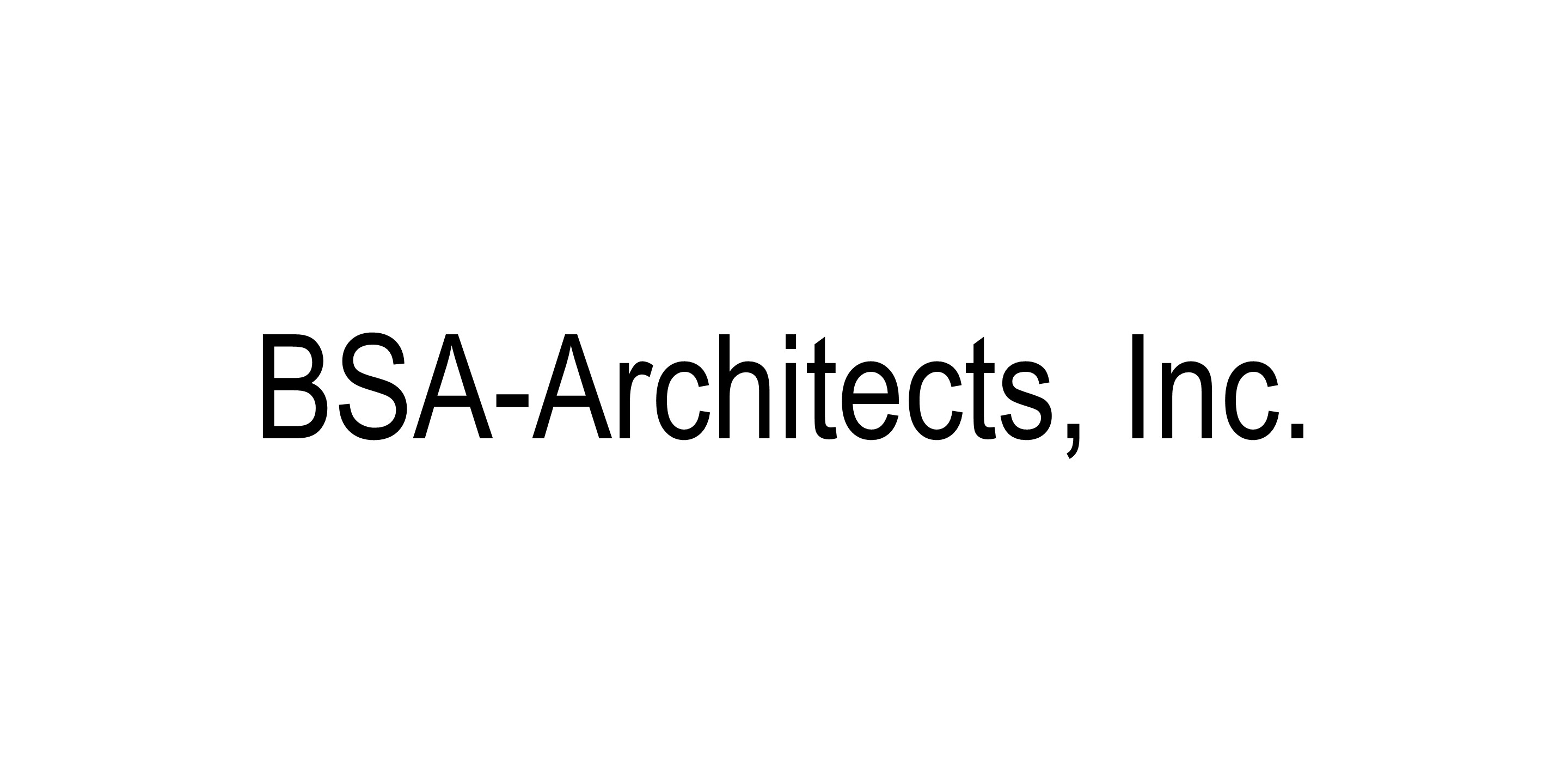 BSA Architects, Inc. logo