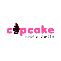 Cupcake and a Smile Food Truck logo