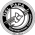 Drink Responsibly - Del Papa logo