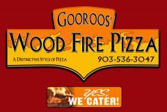 GooRoo's Wood Fired Pizza Food Truck logo