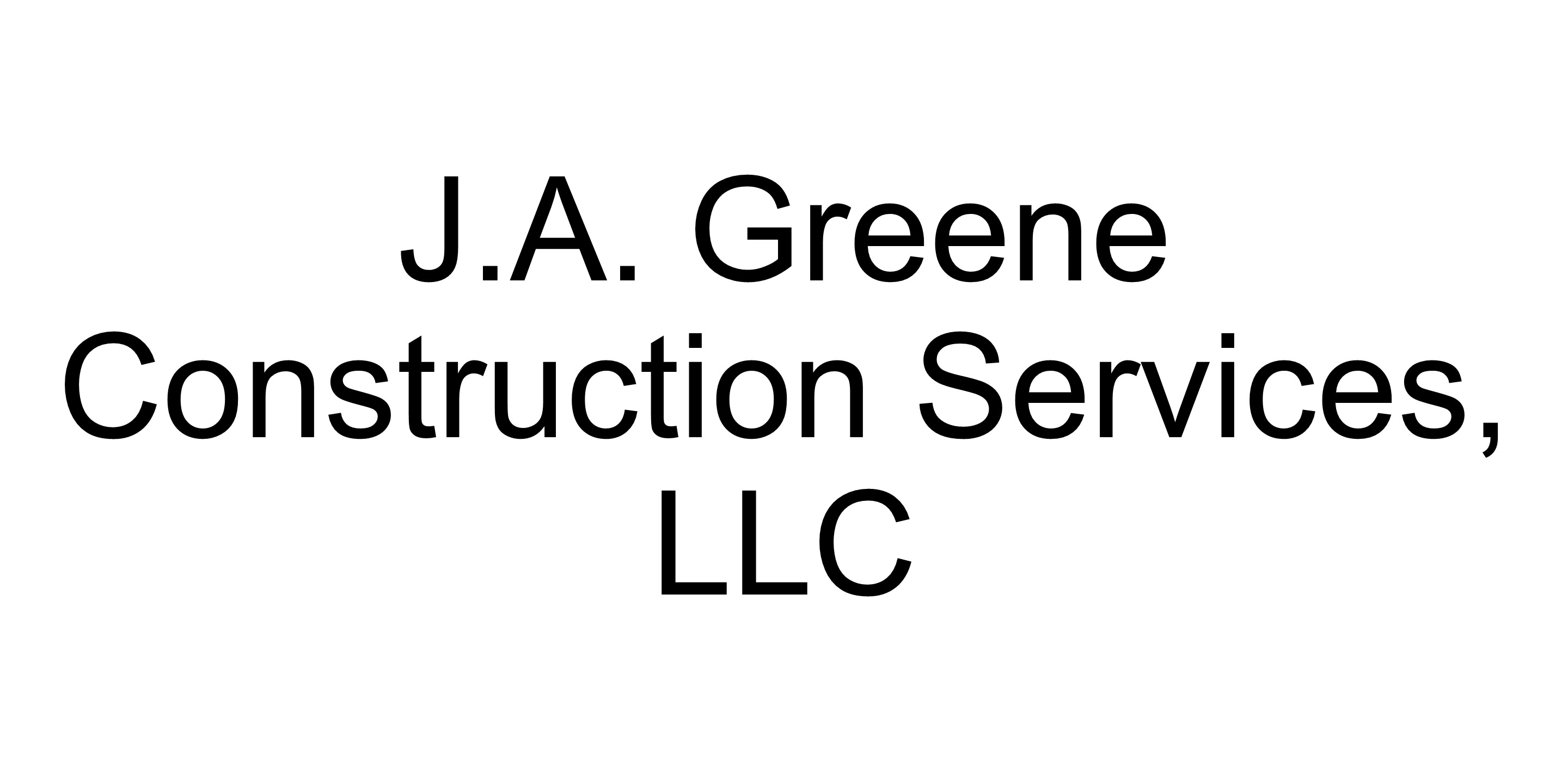J.A. Greene Construction Services logo