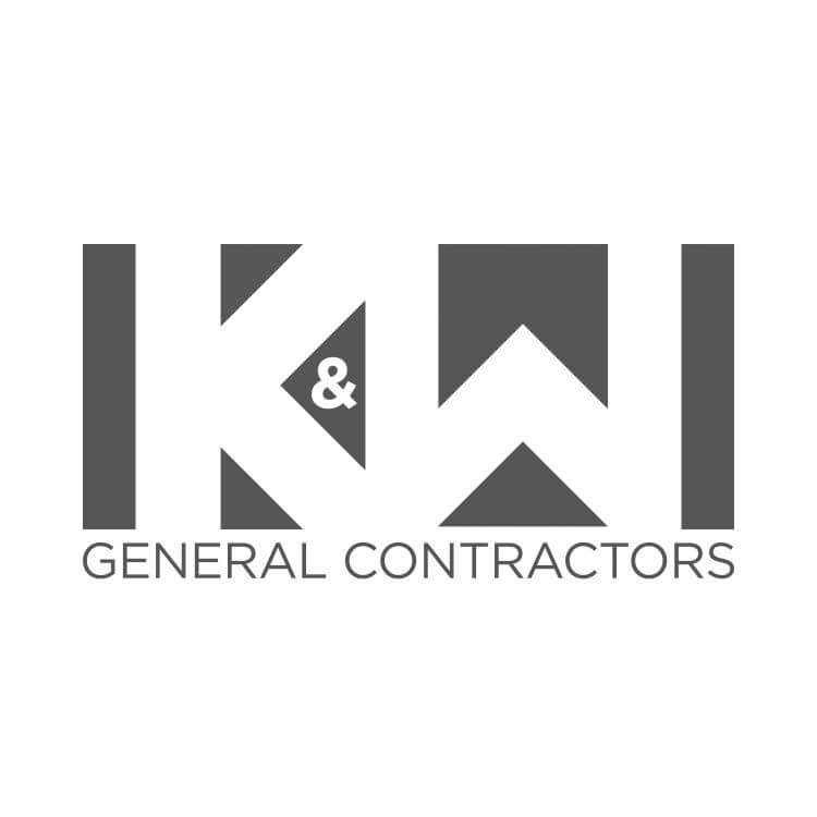 K&W General Contractors logo