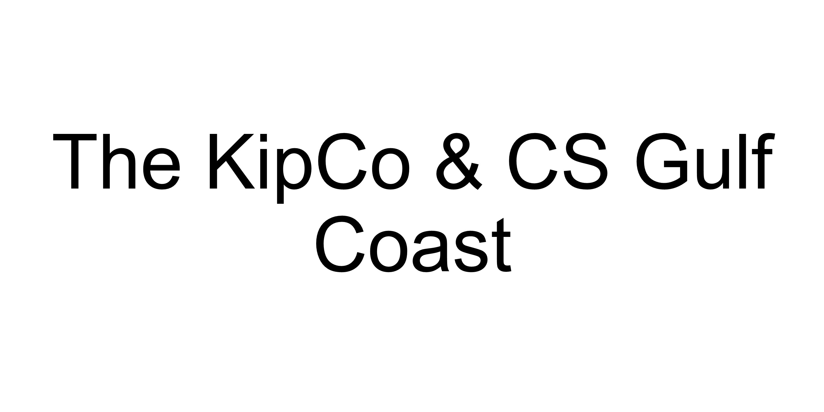The KipCo & CS Gulf Coast logo
